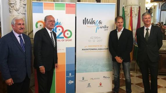Presentado el nuevo Maratón de Málaga