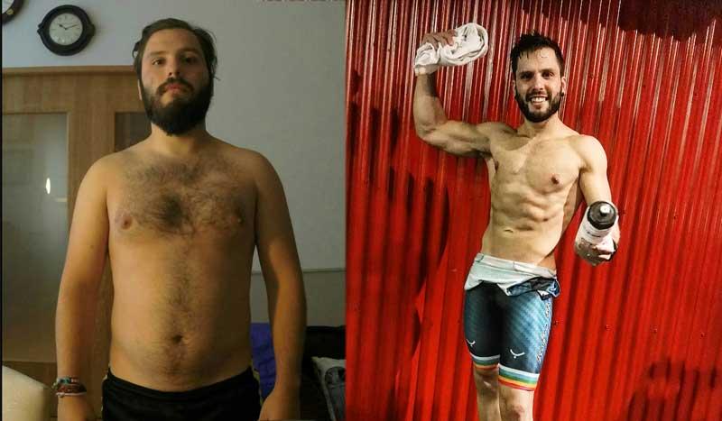 Club Pérdida de Peso: Gustavo Romero, un gran cambio físico con un 11% de grasa corporal