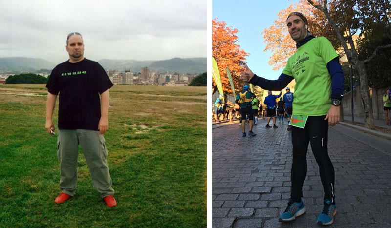 Club pérdida de peso con Daniel Martín González: del sobrepeso resignado a una vida activa