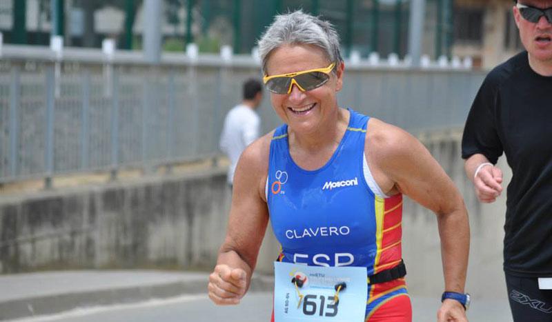Montserrat Clavero, no hay ironman que se le resista a los 63 años