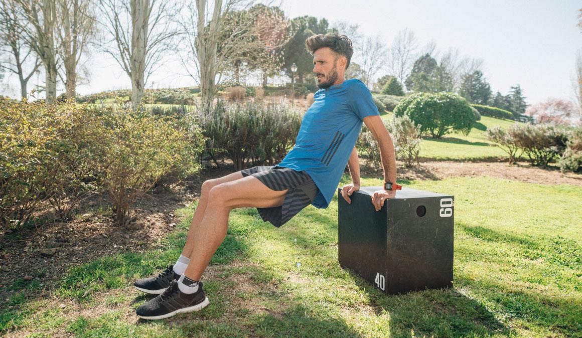 Entrenamiento con cajón para correr y rendir mejor