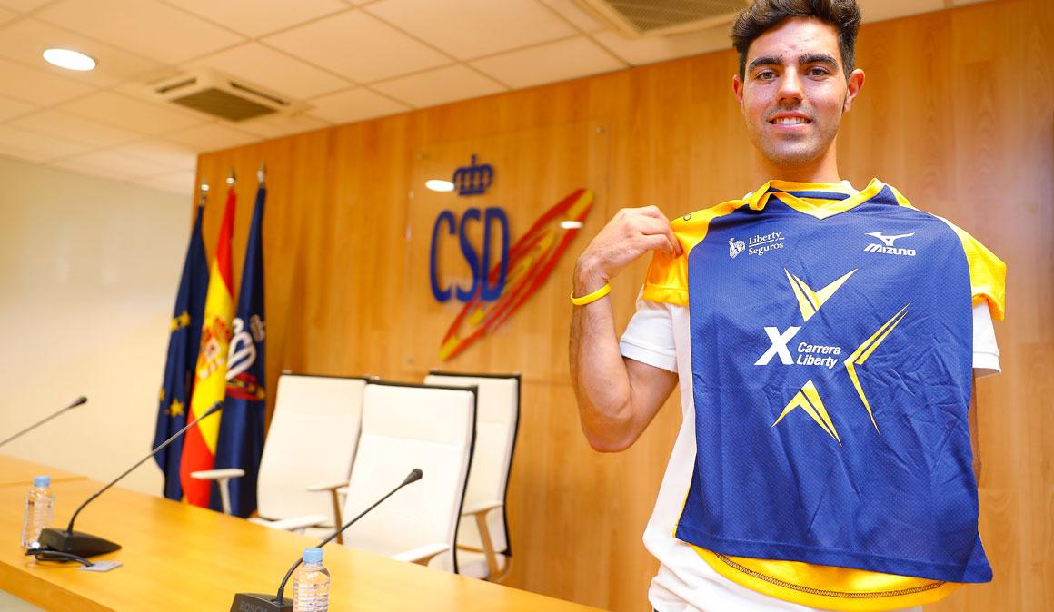 El ciclista paralímpico Alfonso Cabello competirá en el campeonato de España absoluto