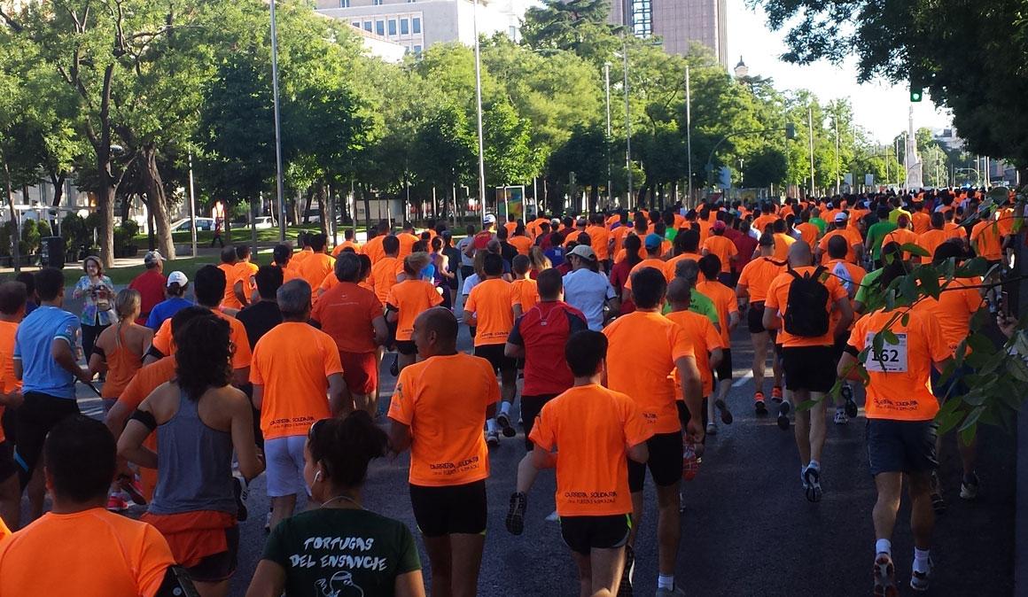 10 km con todas tus fuerzas en Madrid