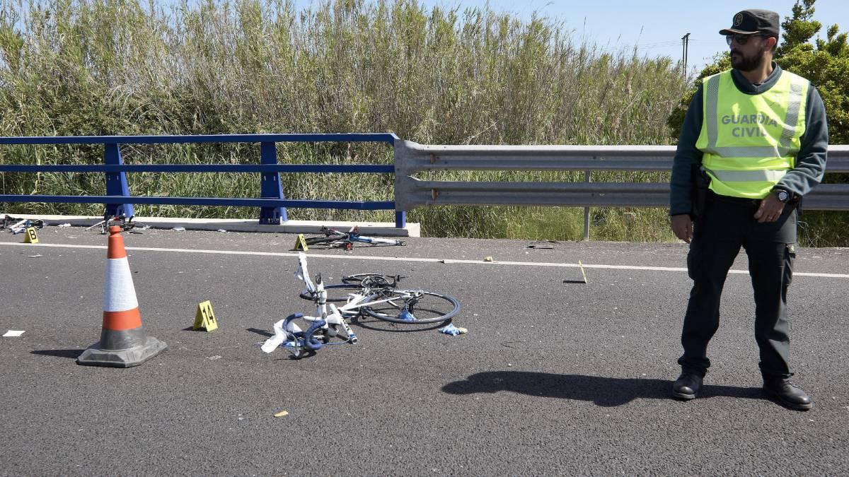 Este domingo concentraciones por la seguridad de los ciclistas en las carreteras