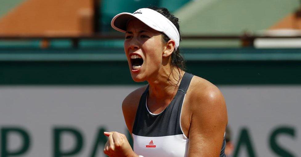 Vídeo y declaraciones: Garbiñe Muguruza, eliminada de Roland Garros