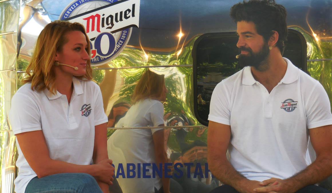 Vídeo entrevista, el bienestar de Mireia Belmonte