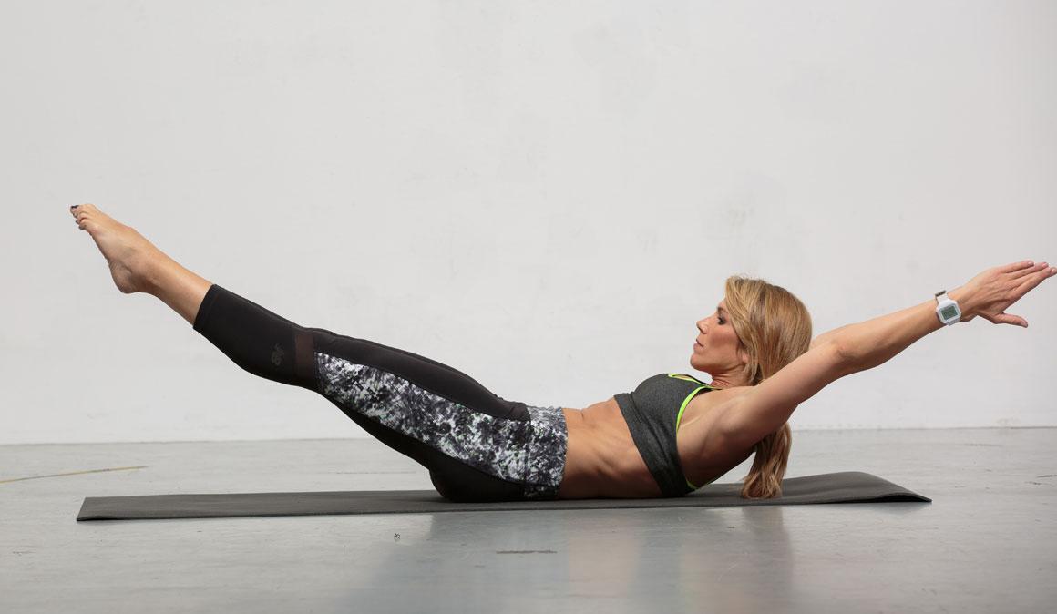 Circuitos de ejercicios 3 en 1 para fuerza, cardio y corrección postural con Sport Life Mujer
