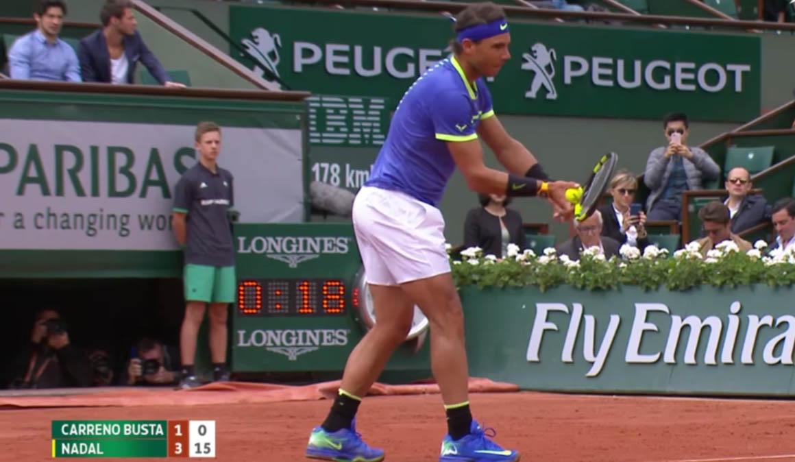 Nadal ya está en semifinales y evita a Djokovic