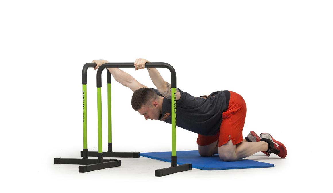 Ejercicios caseros para entrenar con vallas paralelas, ¡acaba este circuito!