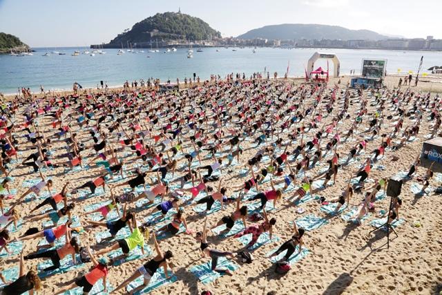El Roxy Fitness llega a San Sebastián
