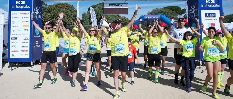 """Los Drinking Runners, premiados por su causa solidaria """"Kilómetros por alimentos"""""""
