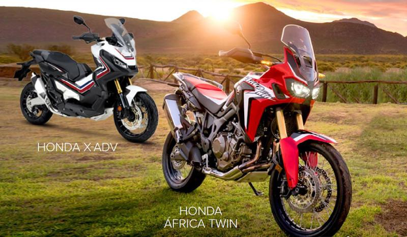 Prueba la mítica Honda África Twin y la Honda X-ADV