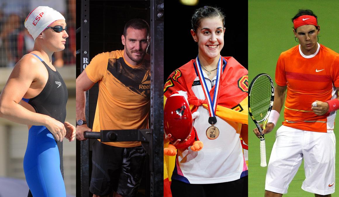 Los 10 mejores del deporte español