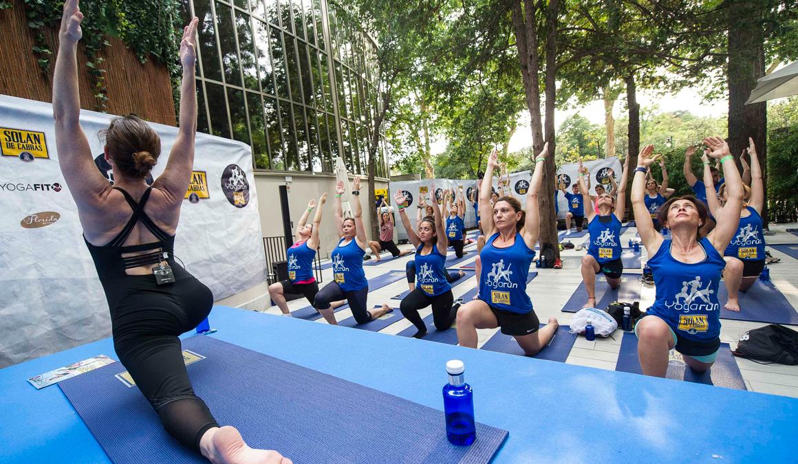 ¡Así vivimos el primer evento de YogaRun Solán de Cabras!