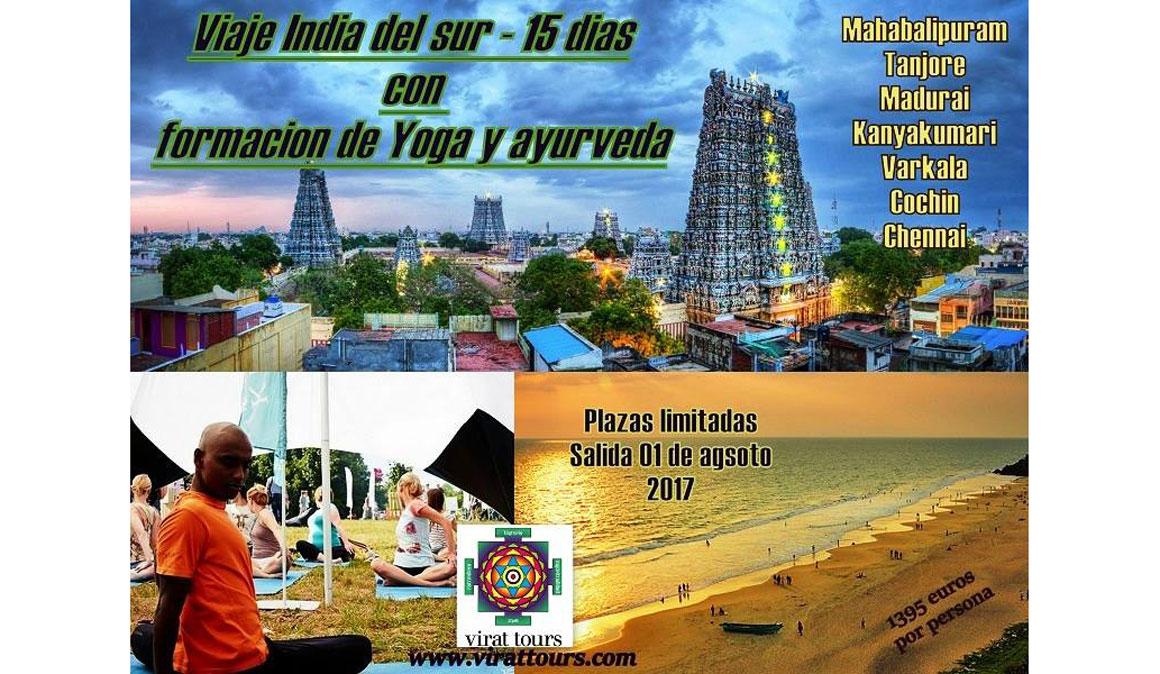 Vacaciones de Yoga y Ayurveda en la India