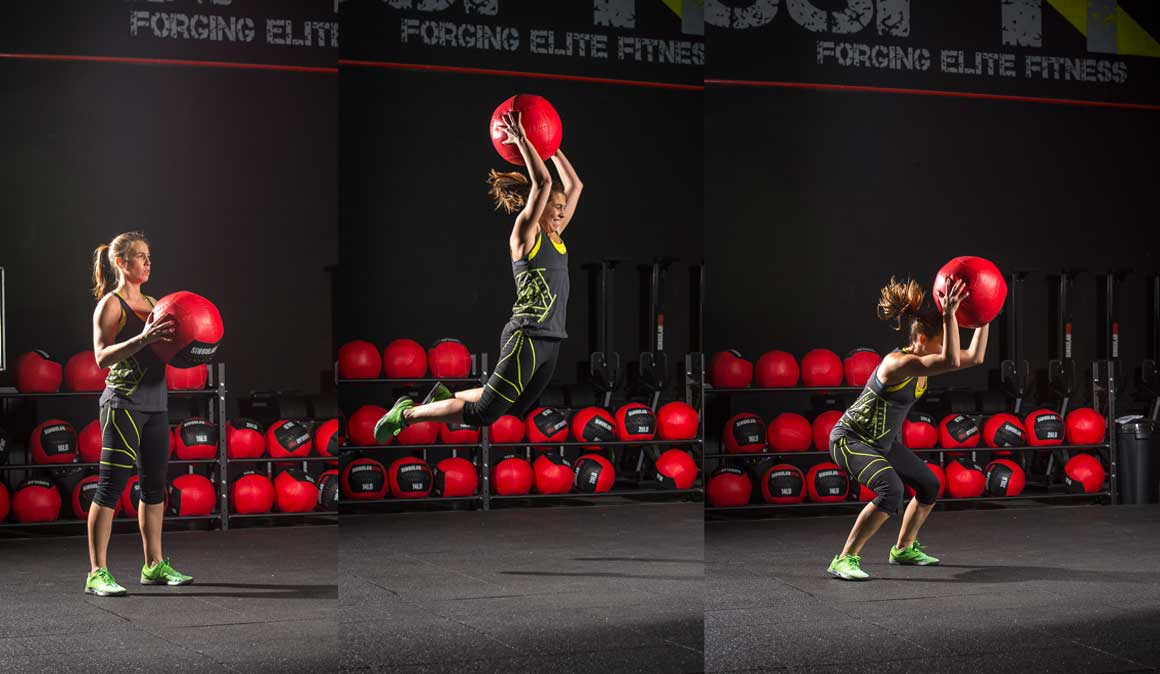 Prepárate para el éxito con este entrenamiento inspirado en el CrossFit