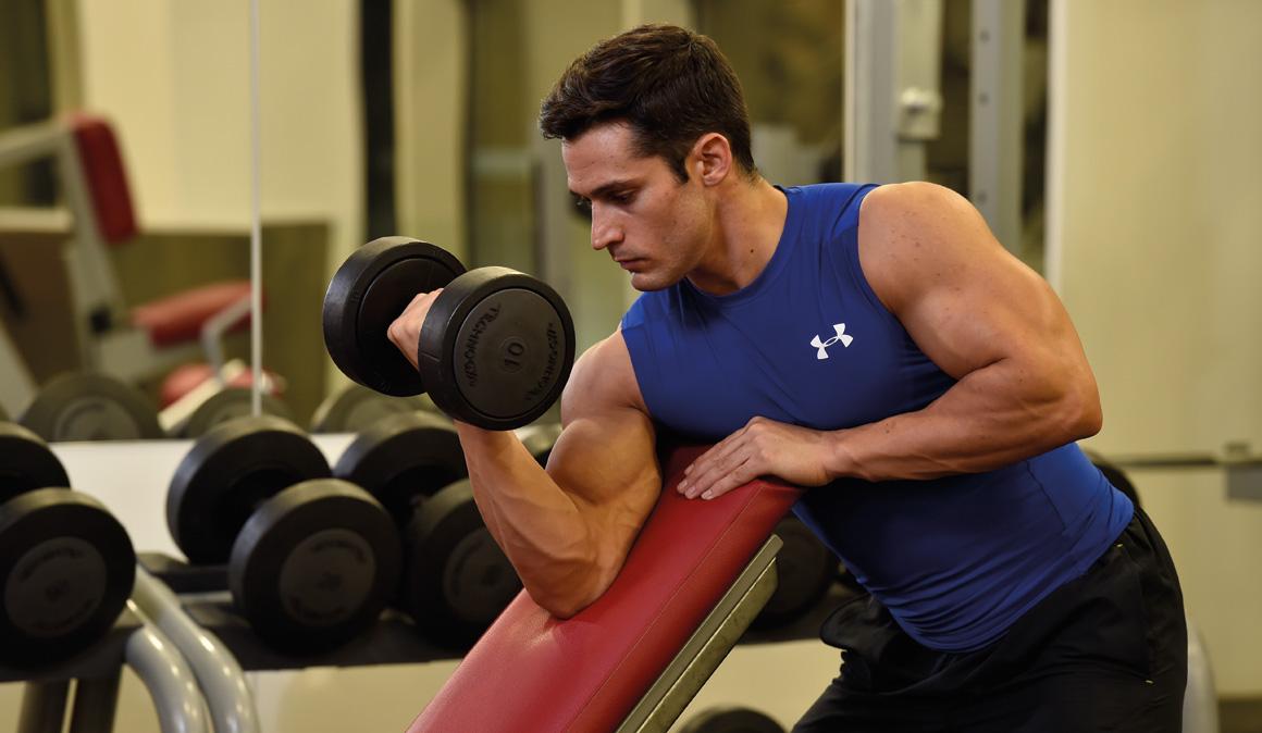 Los mejores ejercicios para muscular bíceps