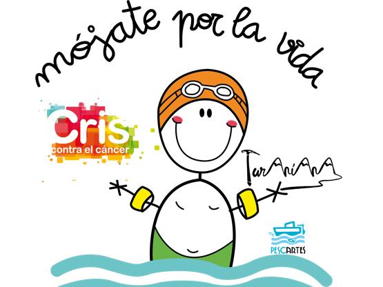 60 km a nado, el reto solidario de Mójate por la vida