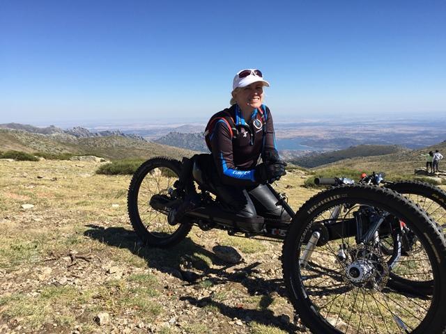 Esta es la silla de ruedas de Gemma Hassen-Bey que estamos buscando
