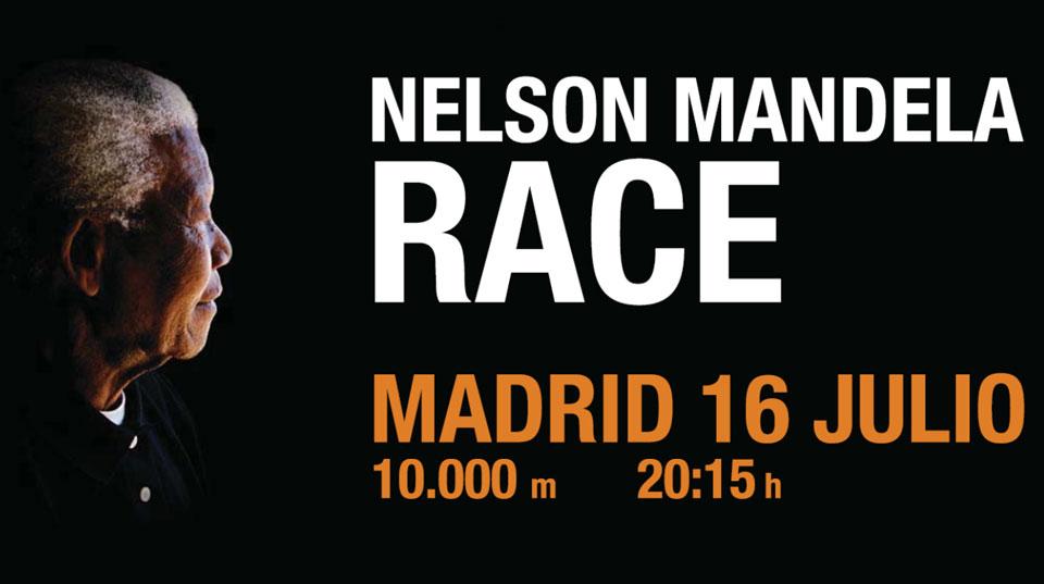 La carrera de Nelson Mandela en Madrid
