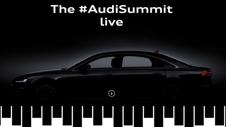 Audi Summit, todas las novedades de Audi en directo