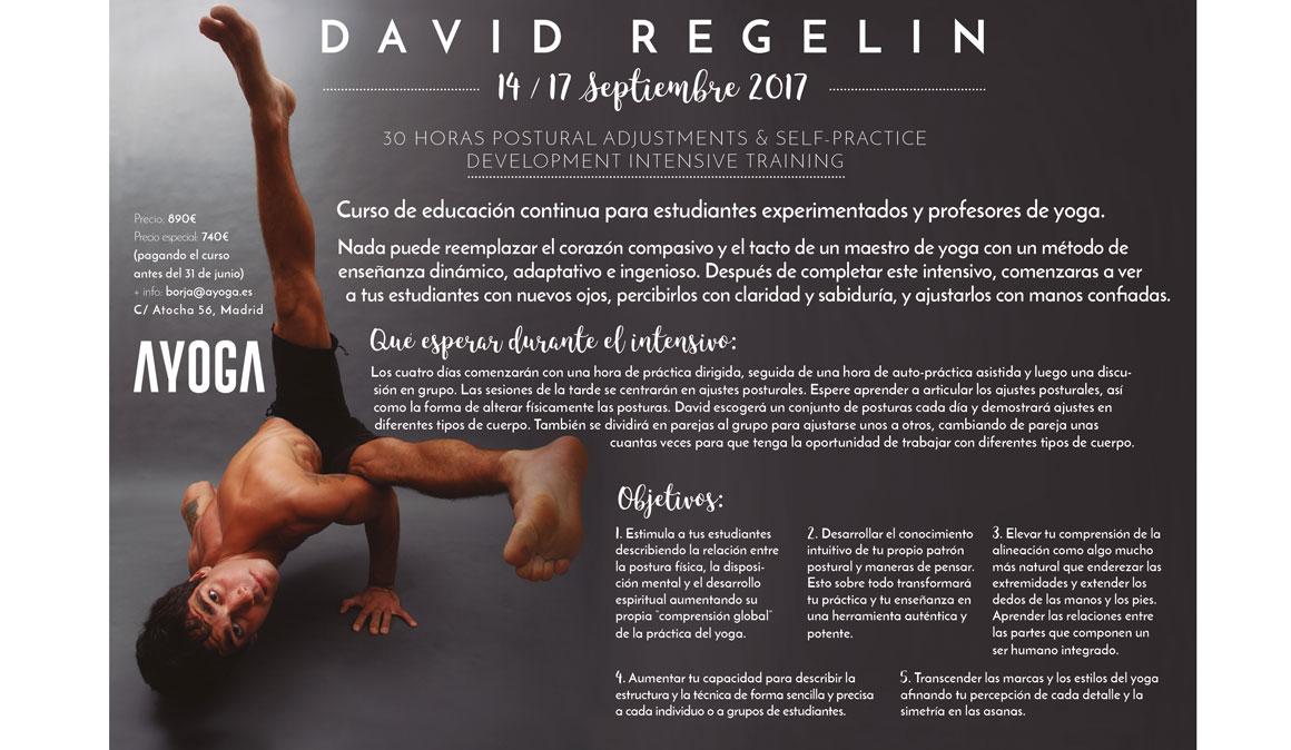 Profundiza en las posturas de yoga con el curso de David Regelin