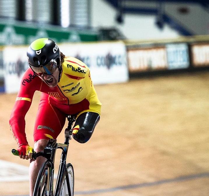 El doble atropello del campeón paralímpico Juanjo Méndez