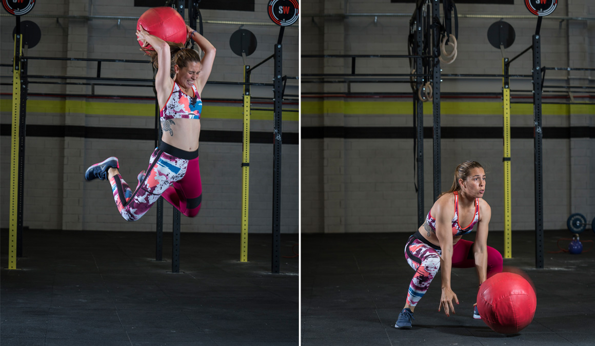 """Entrenamiento de CrossFit para """"darlo todo"""""""