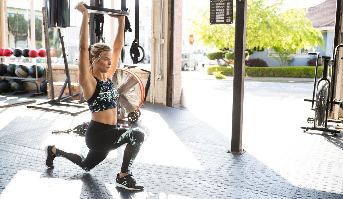 Entrenamiento de fuerza especial para mujeres