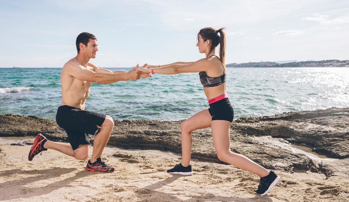 Circuito de fitness para ponerte en forma en cualquier parte