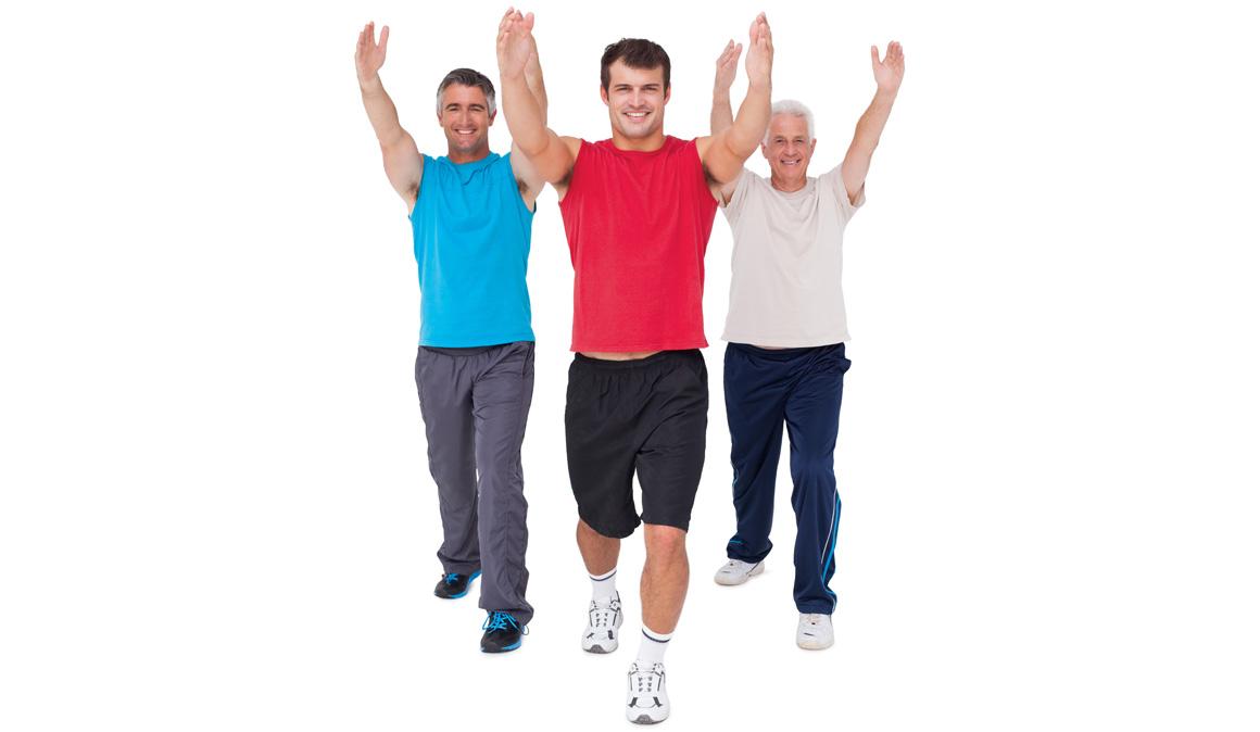 ¿Estás en forma para tu edad? Las flexiones que deberías hacer a los 20, 30, 40...