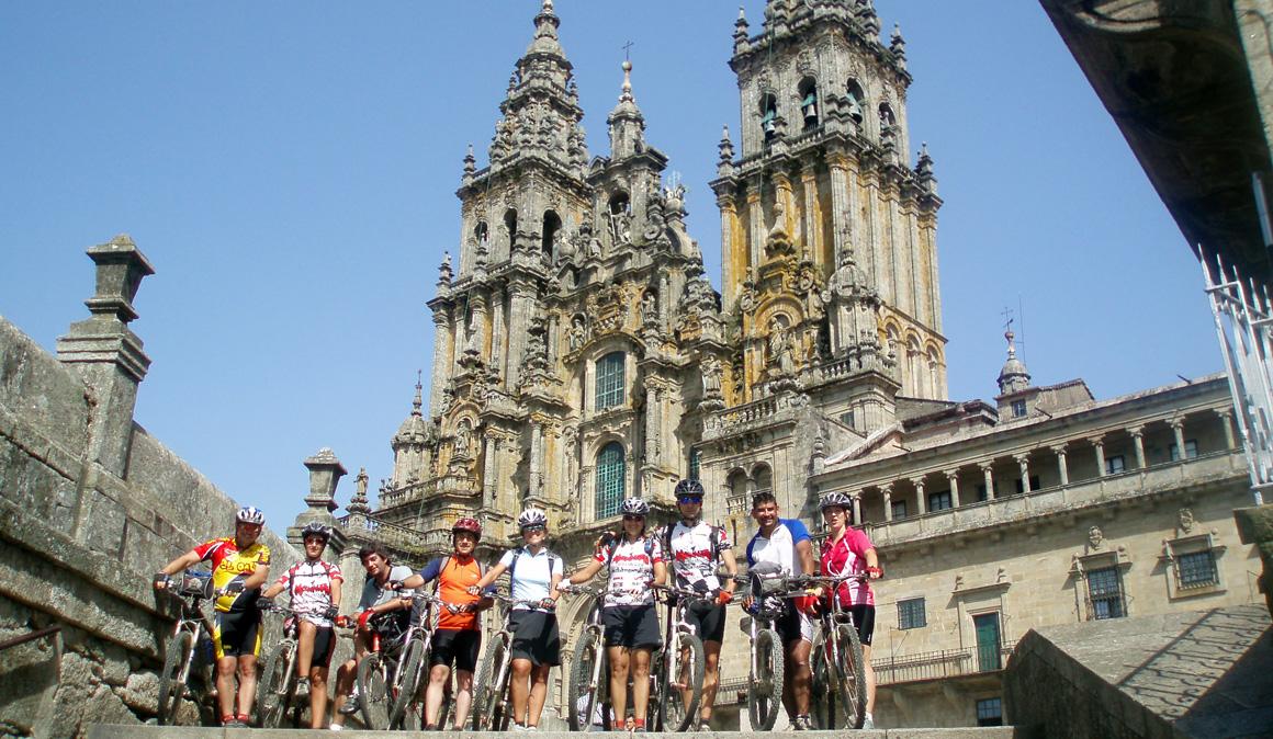 El Camino de Santiago en 11 etapas en mountain bike