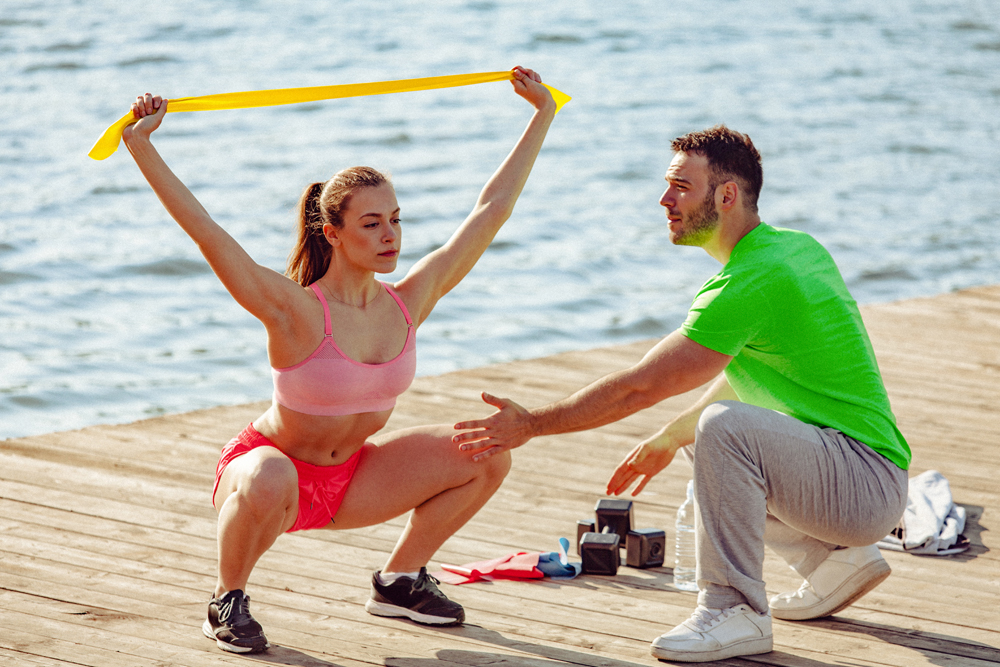 Más fuerza y menos lesiones entrenando con gomas elásticas