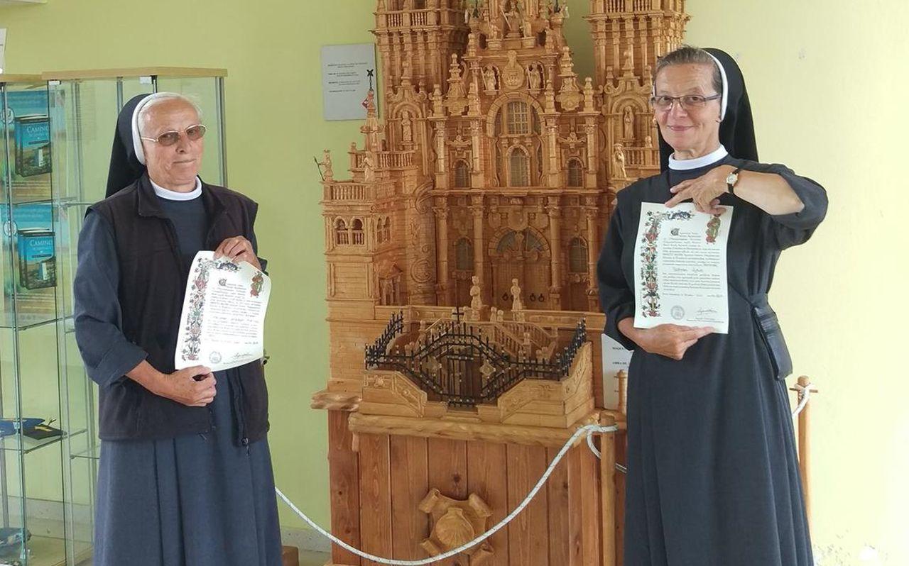 La historia de la monja que le hace sombra a Froome