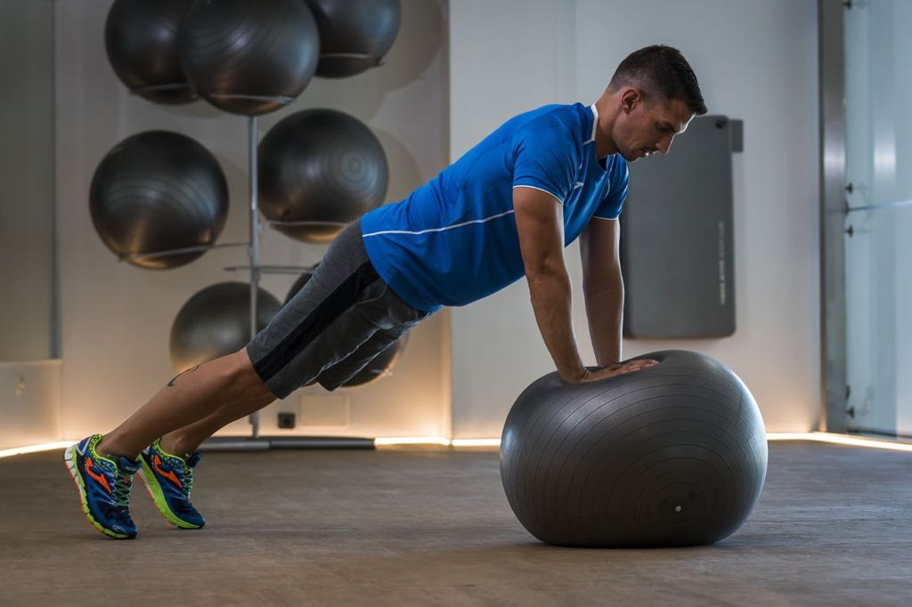 Mejora tu forma física con inestabilidad