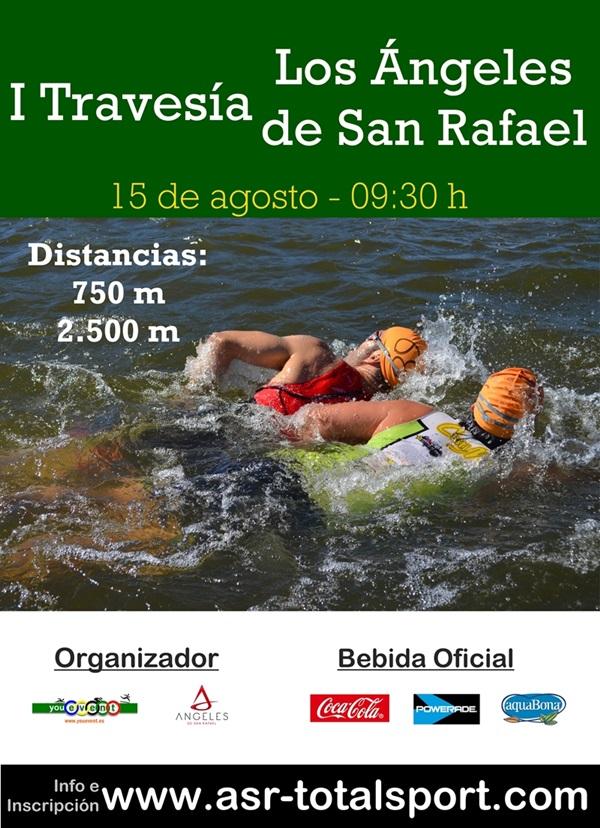 Los Angeles de San Rafael estrenan su travesia de natación