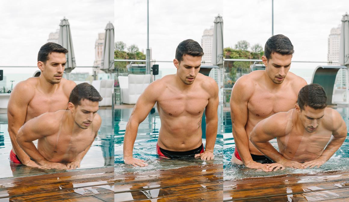 Fitness en la piscina: ¡ejercicios para mantener fuerza y tonificación!