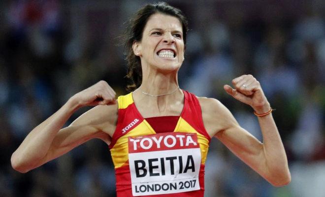 Los horarios de la noche que despedirá a Bolt. Ruth Beitia no ha podido en la final de altura