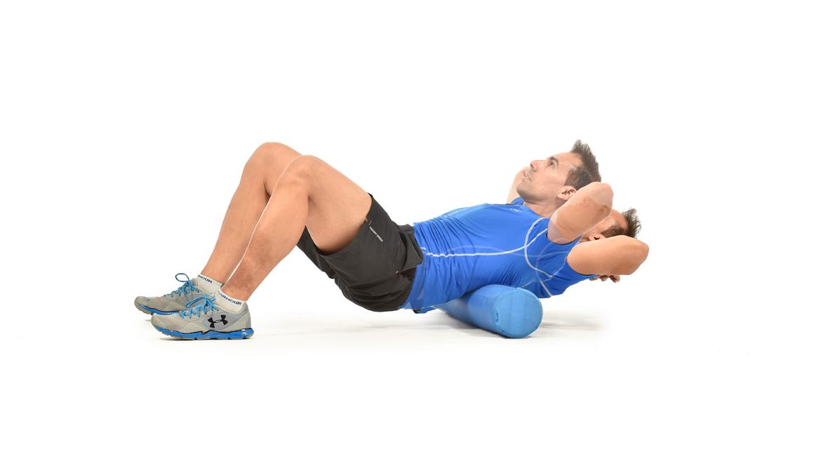 Mejora fuerza abdominal y moviliza columna con este ejercicio