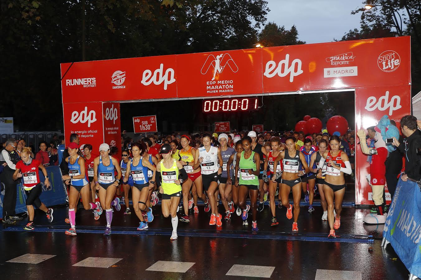 Medio maratón de la mujer, ahora también por relevos