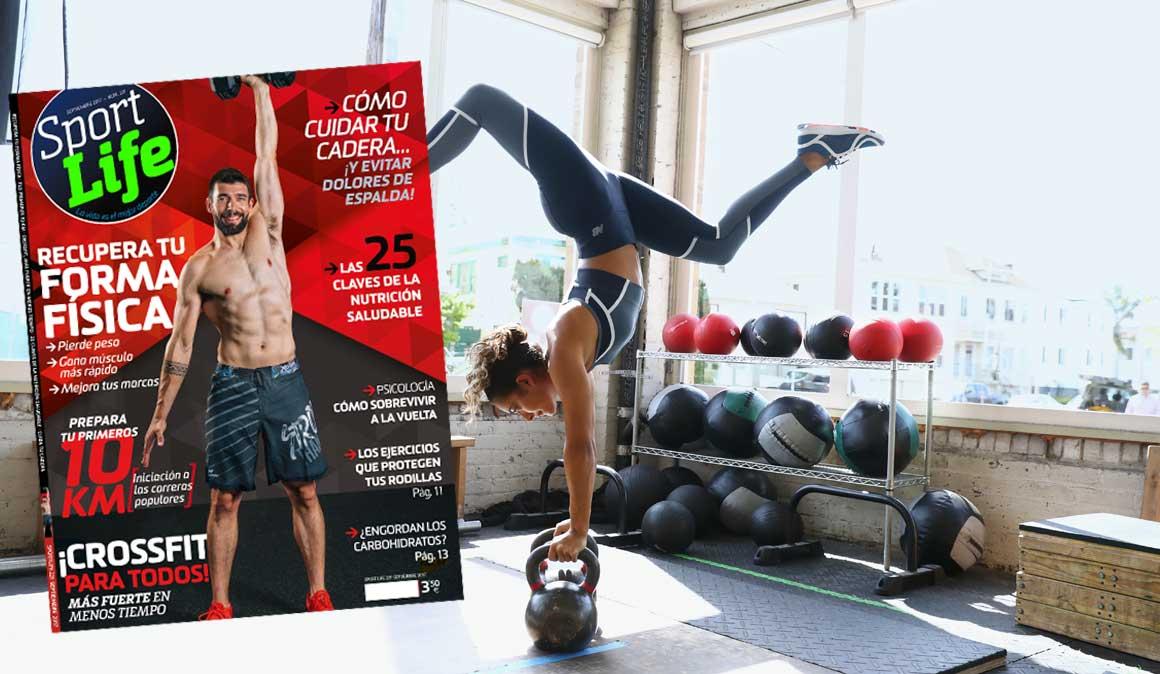 Pierde peso, gana músculo y mejora tus marcas en septiembre
