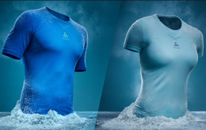La ropa con 'aire acondicionado'