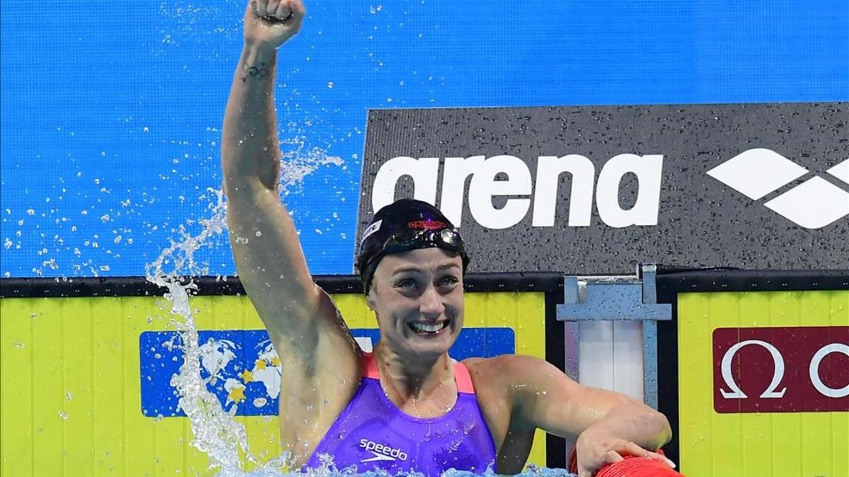 Mireia Belmonte, la campeona que empezó a nadar por consejo médico
