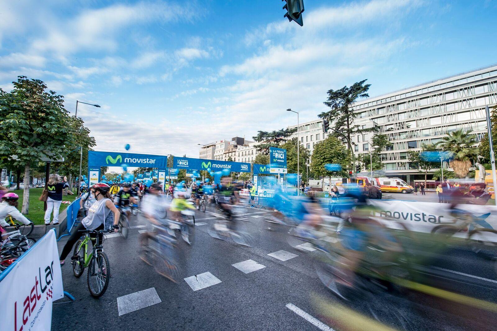 Ya hay fecha para la fiesta de la bici de Madrid