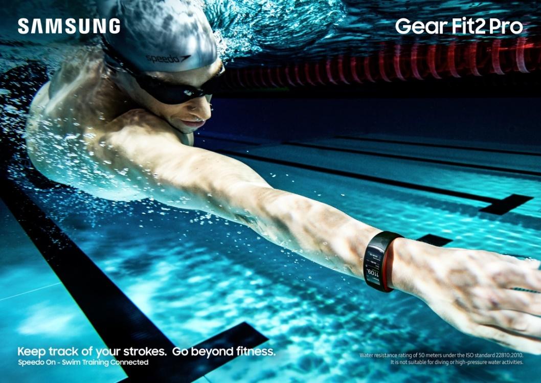 Samsung y Speedo presentan la pulsera de actividad de los nadadores