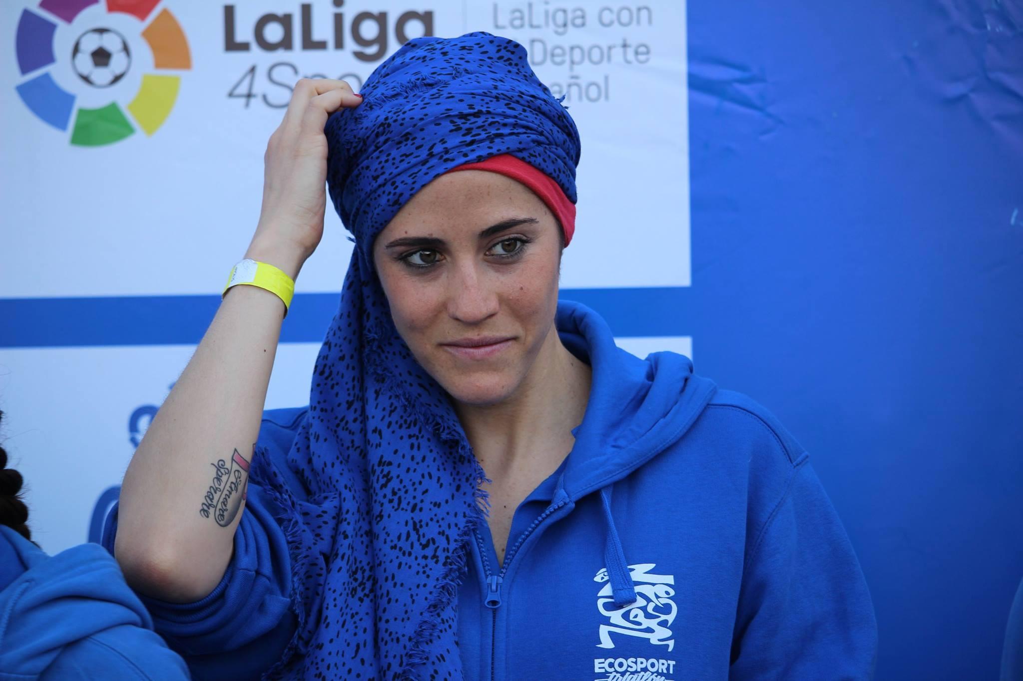Carlota Serrano, zancadas contra el cáncer de mama