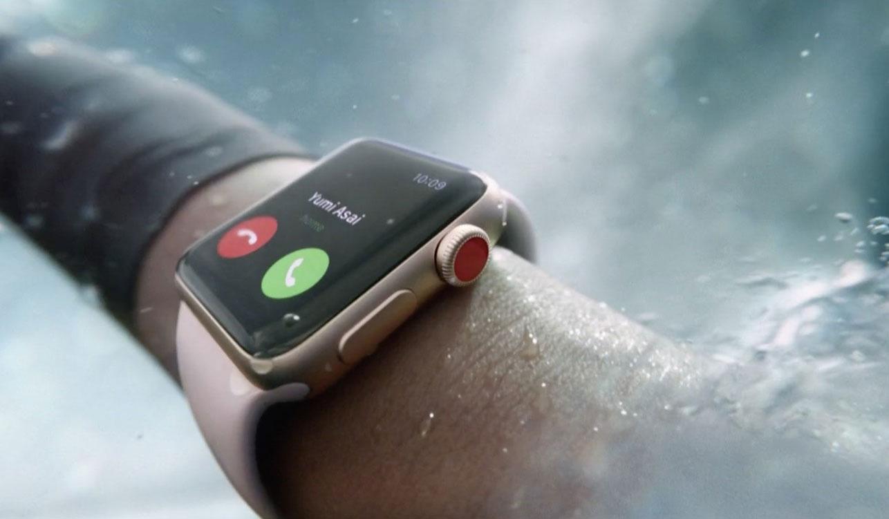 Llega el Apple Watch 3, con altímetro y teléfono incorporado