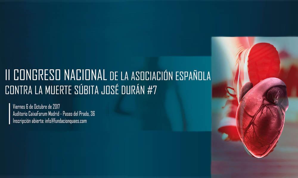 Muerte súbita, llega a Madrid el II Congreso Nacional