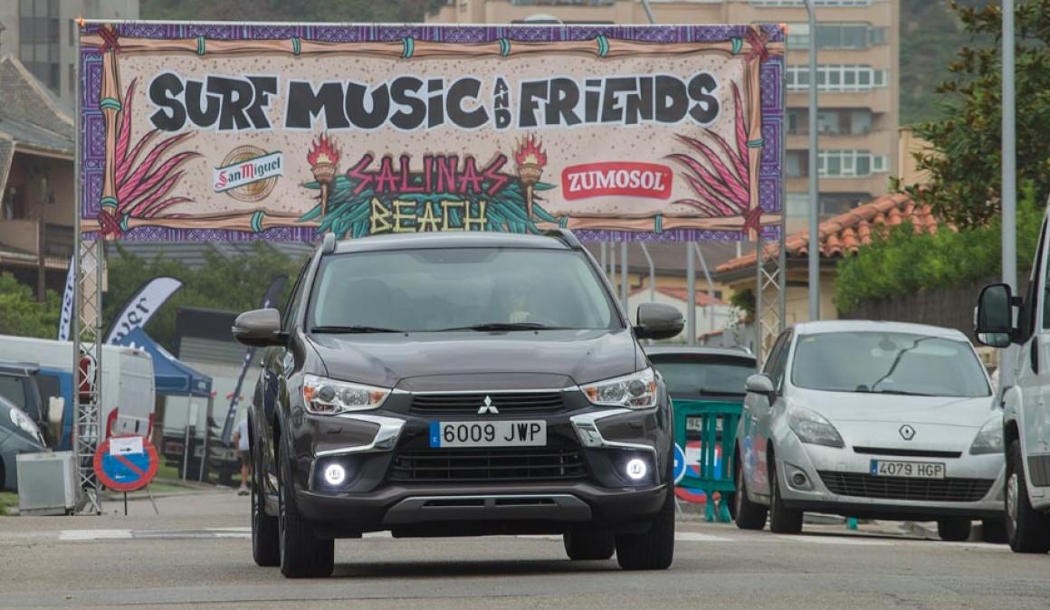 Ruta de surf y música en Asturias con el Mitsubishi ASX