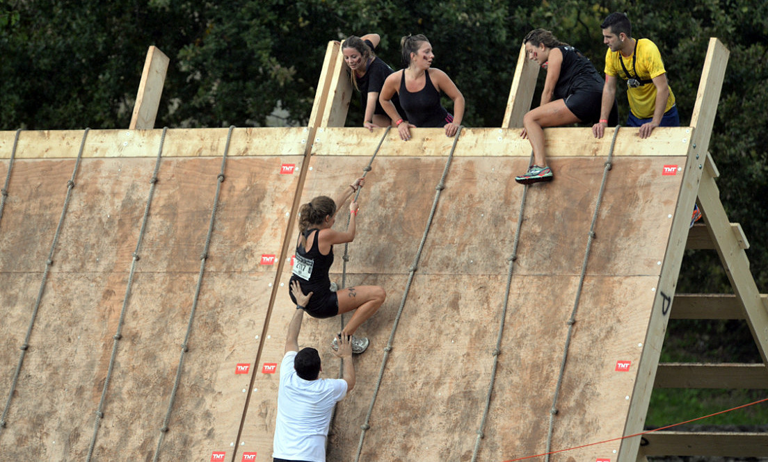 Ponte a prueba en la Gladiator Race